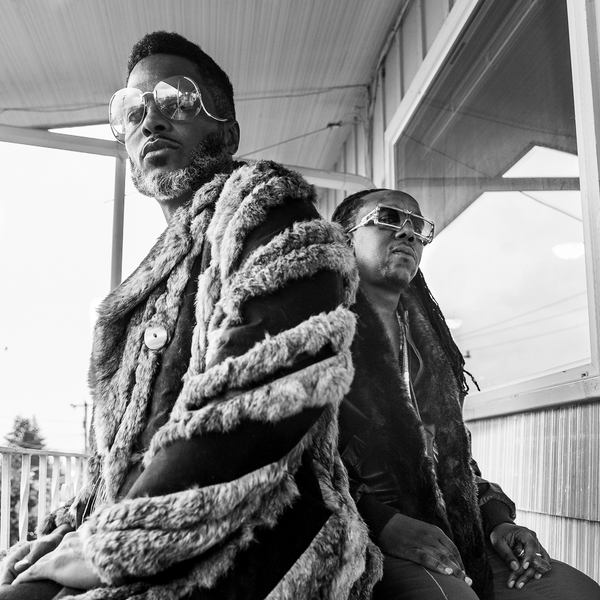 Shabazz Palaces by Victoria Kovios. Ish to the left.